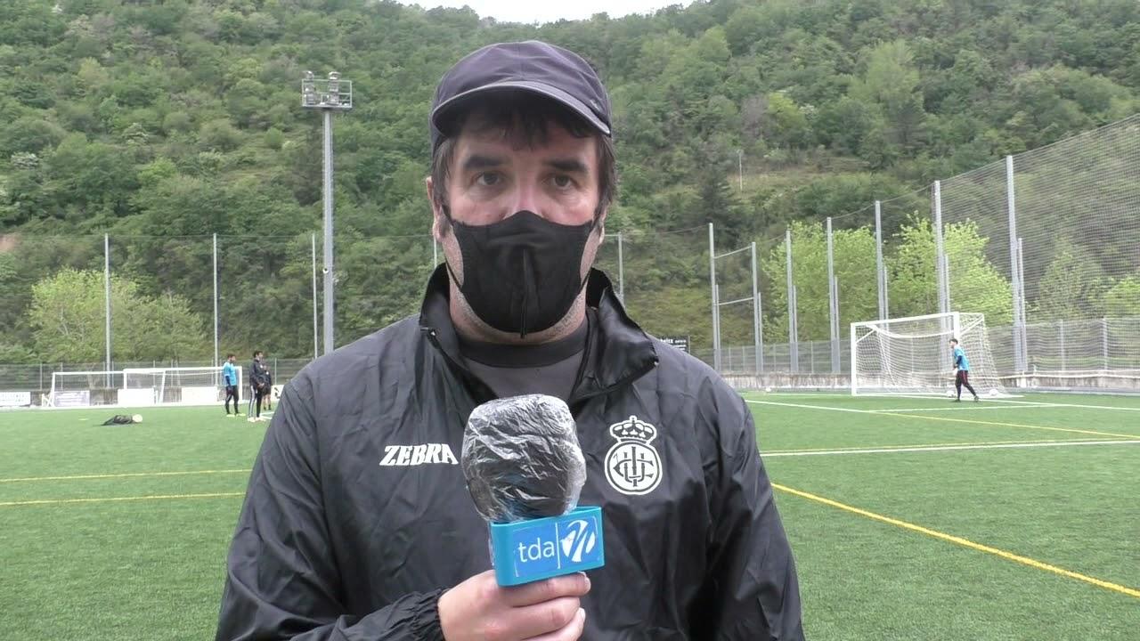 Aitor Zulaika. 5ª jornada 2ª fase, previa del SD Tarazona-Real Unión Club