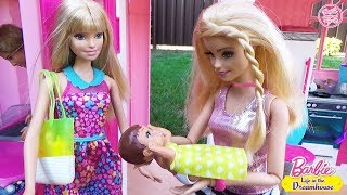 Мультик Барбі зустрічає сестру в Будинку Мрії Челсі і малюки потрапили під дощ ♥ Barbie Original Toys