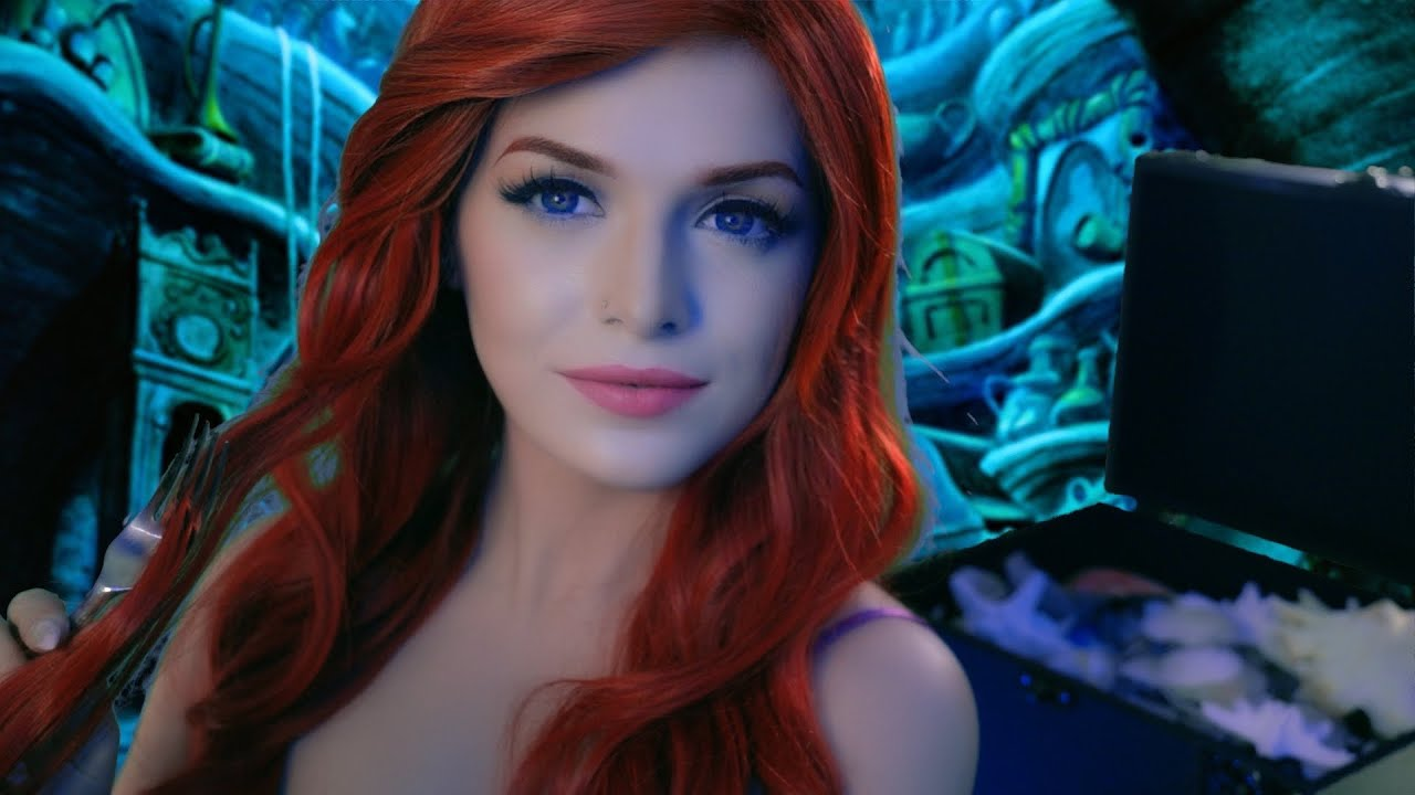 ASMR   Ariel Shows You Her Treasures - The Little Mermaid   ( Role Play, Personal Attention )