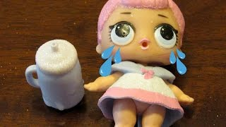 HOW TO MAKE A RARE LOL SURPRISE DOLL CRY!!!!!