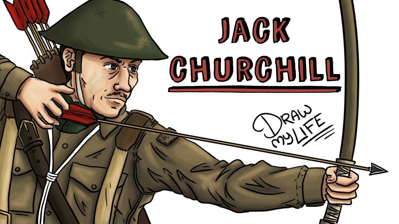 JACK CHURCHILL | Draw My Life Mad Jack El hombre que luchó con un arco y una espada en la II GM