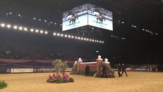 WINNER OF HOYS 2017 PUISSANCE | Padraic Judge's winning jump at 2.14m