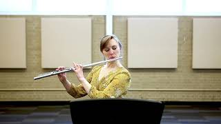 Monologue for solo flute by William Price