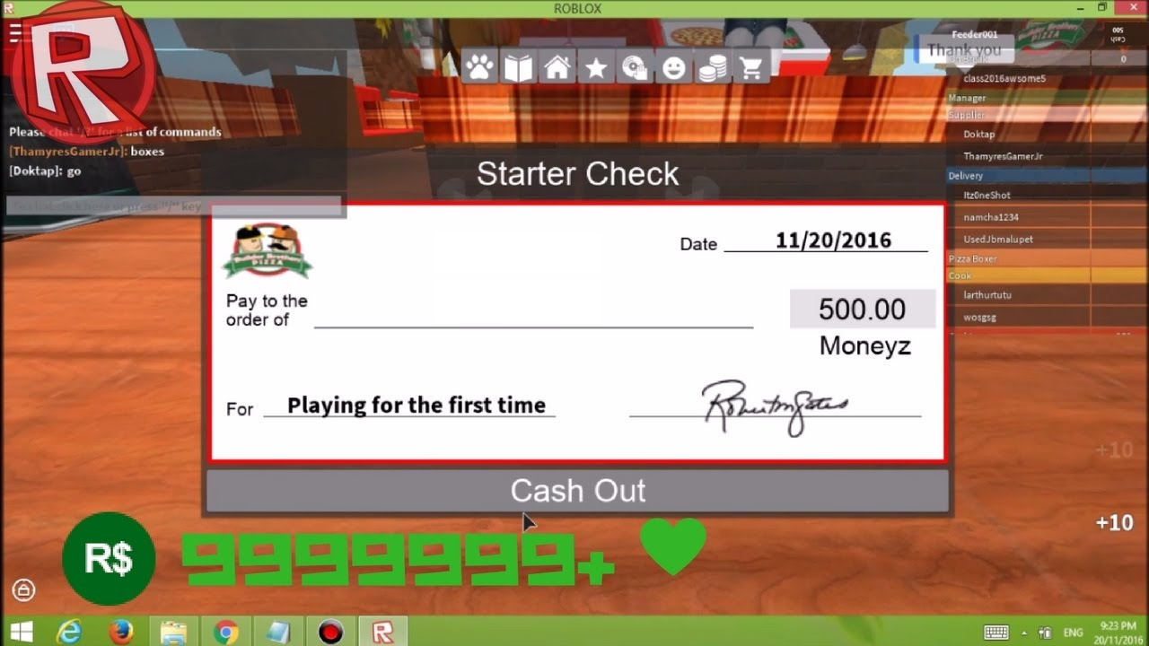 work   pizza place money glitch  unpatched