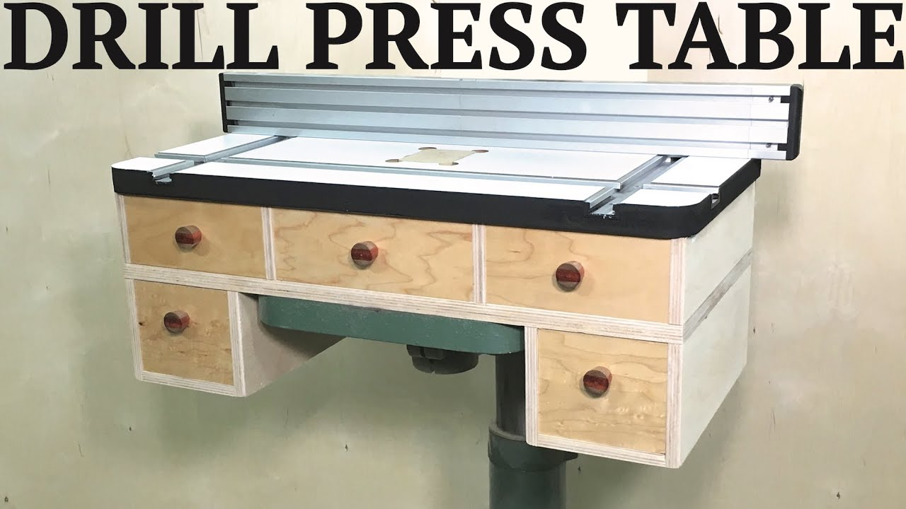 Beste Boormachine Best Drill Press Table Youtube