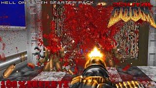 Скачать Brutal Doom V20b Hell On Earth Starter Pack 1 100 Secrets