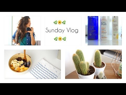Yoga, cocooning, healthy food, Paris, beauté ❀ Sunday Vlog