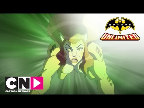 Batman Unlimited |The Race Is On! Batman And The Flash Vs Cheetah | Cartoon Network