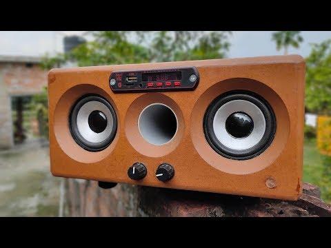 DIY 2.1 Bluetooth Speaker
