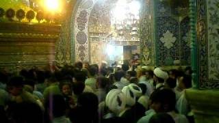Shrine of Hazrat Fatima Masooma e Qum (inside view) حرم مطھر حضرت معصومہ قم