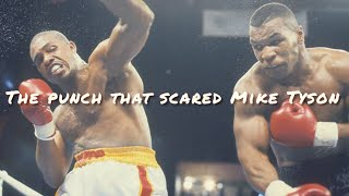 The punch that scared Mike Tyson