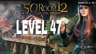 Can You Escape  The 100 Room 12 Level 47 Walkthrough