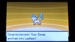 How to Get Leafeon - Pokemon Black 2 and White 2