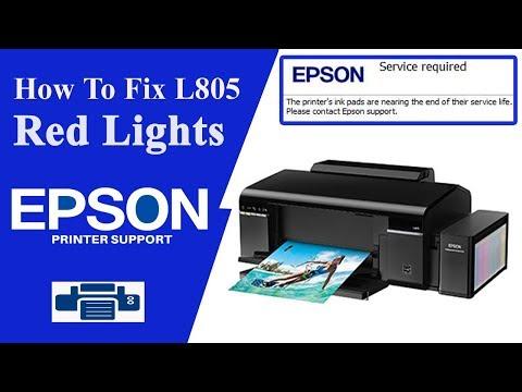 epson l805 Resetter - service required Error