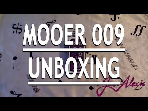 Mooer Micro PreAMP 009 Blacknight Unboxing/Soundcheck