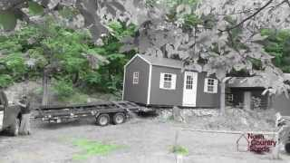 Garden Shed Delivery Process - North Country Sheds