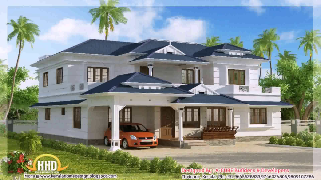 House designs indian style pictures middle class youtube Indian house plans designs picture gallery