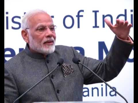 PM Modi's Speech to the Indian Community in Philippines