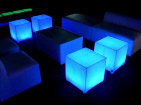 Salas Lounge Toluca Metepec Muebles Iluminados.wmv - YouTube