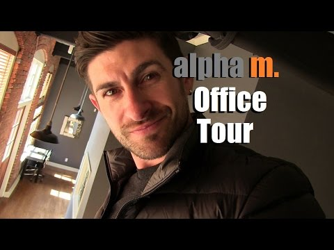 Alpha M  Office/Studio Tour | Behind The Scenes Of Alpha M HQ