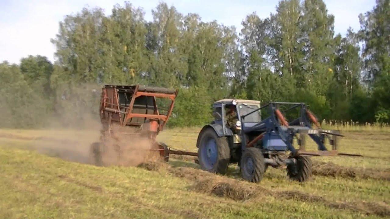 Эффектная расчистка трассы от снега трактором ХТЗ Т-150К. - YouTube