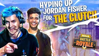 HYPING UP JORDAN FISHER FOR THIS 2 VS 1 CLUTCH!
