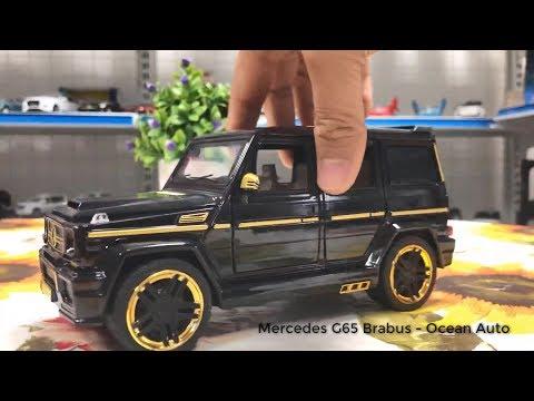 Mô hình xe Mercedes G65 MẠ VÀNG Brabus 1:24 - Ocean Auto
