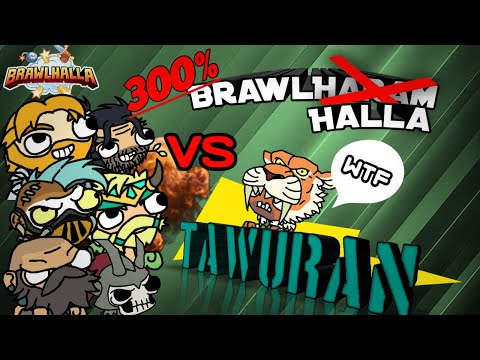 Brawlhalla Indonesia : Tawuran, KO Mania, 1V7. FT Faiz YT