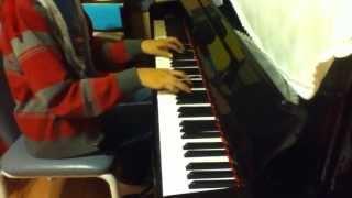 Qing Hua Ci【Blue & White Porcelain】on Piano