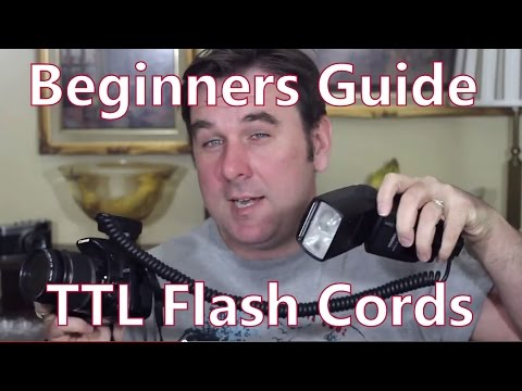 Beginners Guide To TTL / Automatic Off Camera Hot Shoe Flash Cords