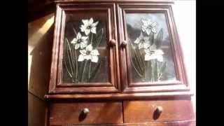 Thrift Shop Curio Cabinets!