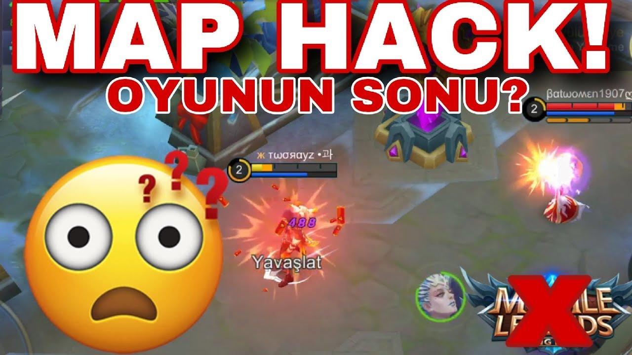 MAP HACK İFŞA KARŞIMA GELDİ!