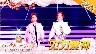 《2018全球华侨华人春节大联欢》:Twins合体献唱《见习爱神》 大年初一温习青春!Worldwide Celebration of Chinese New Year 2018【湖南卫视官方频道】
