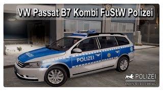gta 4 2013 vw passat b7 kombi fustw polizei gta iv eflc