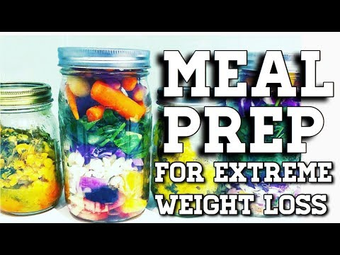 How We MEAL PREP Our Food | Crazy Weight Loss (w/Recipes!)
