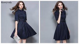 Элегантные платья ▼ на Aliexpress – Стильное платье 001 Violet Apparel