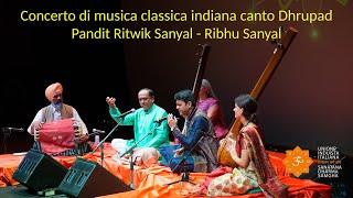 Induismo e Arte - Musica classica indiana canto Dhrupad - Ritvik Sanyal - 1a parte