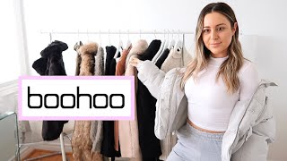 BOOHOO TRY ON CLOTHING HAUL! FALL &amp WINTER 2018