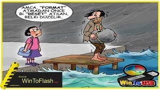 Windows 7 Flash belleğe Yüklemek