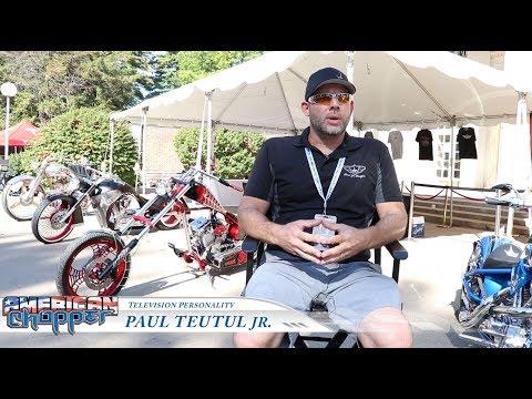 Paul Teutul Jr at Saratoga Auto Auction - Star Studios & Agency