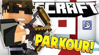 Minecraft BOWZZLE PARKOUR MAP! (Minecraft Parkour Challenge w/ SkyDoesMinecraft!)