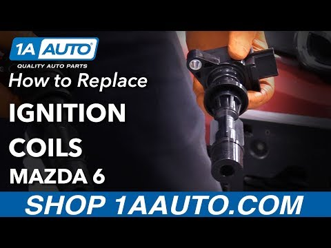 How to Replace Ignition Coils on a 02-07 Mazda 6