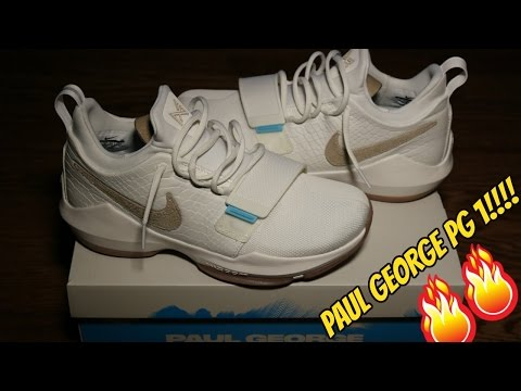 "NIKE PAUL GEORGE 1 (PG 1) ""SUMMER TIME"" REVIEW!!"