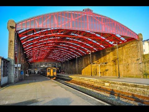 A Walk Through Penzance Railway Station, Penzance, Cornwall, United Kingdom
