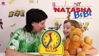 35 минут Как Учить Время с Детьми Изучаем Время
