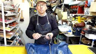 革ジャンの修理について