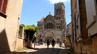 Vézelay, France • The Picturesque Town of Vezelay and its Hilltop Basilica   European Waterways