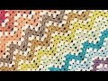 CROCHET:How to make a crochet granny ripple stitch |TheCrochetworld