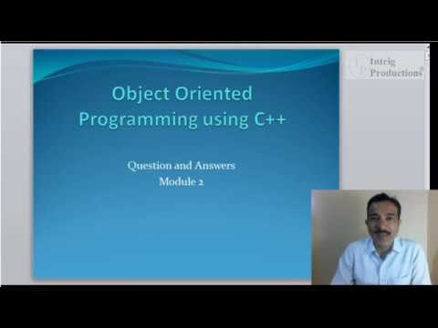 Quickly Learn,C++,Programming,Tutorial, Module 2 for, PUC, VTU, Engineering,bharathiar, university