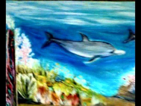 Exp sicion oleos peces diez colorado youtube - Cuadros con peces ...